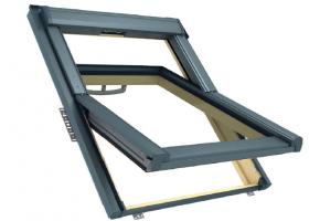RotoQ-4 obrotowe okno dachowe z pakietem 3-szybowym
