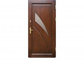 Drzwi drewniane RAMOWO- PŁYCINOWE