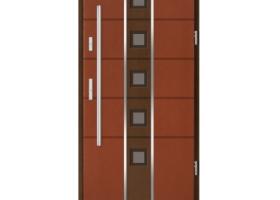 Drzwi drewniane NOWOCZESNE DWUKOLOROWE Doorsy